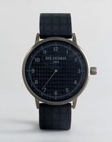Ben Sherman WB075BUR Watch In Black Silicone