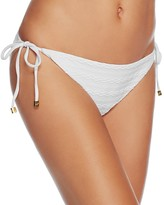 Shoshanna Cable String Side Tie Bikini Bottom