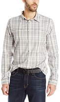 Calvin Klein Jeans Men's Brushed Twill Plaid