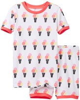 Petit Lem Ice Cream Social Pajama - 2-Piece Set (Toddler & Little Girls)