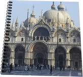3dRose db_45520_2 Outside of St. Marks Cathedral in Venice Italy-Memory Book, 12 by 12""
