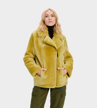 UGG Nadine Short Shearling Jacket