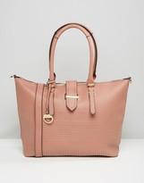 Dune Studded Shopper Shoulder Bag