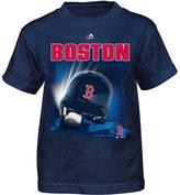 Majestic Little Boys' Boston Red Sox Kinetic Helmet T-Shirt