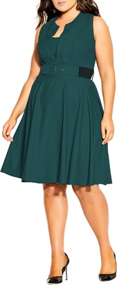 City Chic Vintage Veronica Dress