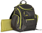 Jeep J is for Gray & Avocado Diaper Backpack