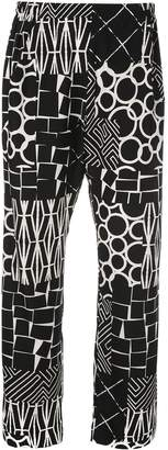 Zero Maria Cornejo all-over print trousers