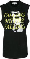 McQ by Alexander McQueen falling print tank top - women - Cotton - S