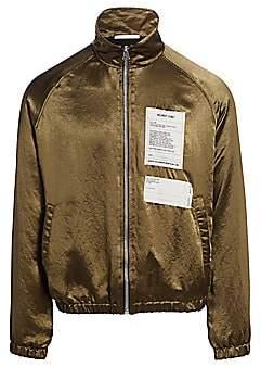 Helmut Lang Men's Satin Warm-Up Jacket