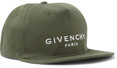 Givenchy Logo-Embroidered Cotton-Twill Baseball Cap