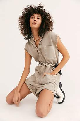One Teaspoon Oneteaspoon Safari Bandit Romper by OneTeaspoon at Free People