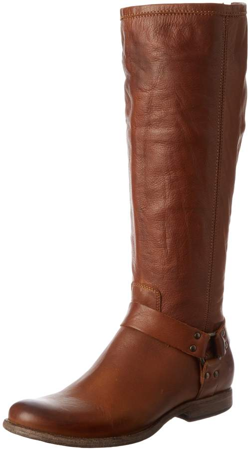 Frye Women's Phillip Harness Tall Boot: Wide Calf