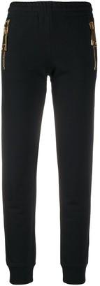 Moschino Oversized Zip Track Pants