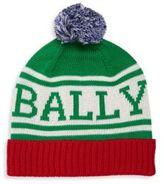 Bally Knit Pom-Pom Hat
