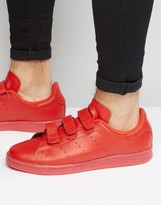 adidas Stan Smith Velcro Sneakers In Red S80043
