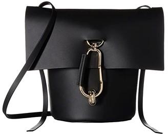Zac Posen Belay Crossbody (Black) Shoulder Handbags