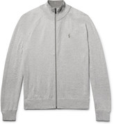 Polo Ralph Lauren Mélange Cotton Zip-Up Sweater