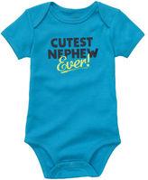 Carter's Short-Sleeve Slogan Bodysuit