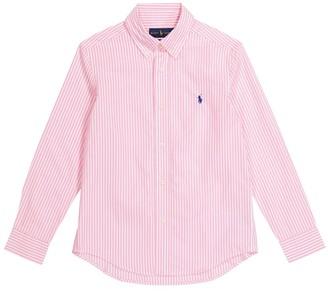 Polo Ralph Lauren Kids Striped cotton shirt