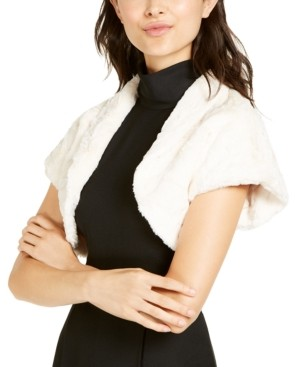 Vince Camuto Faux-Fur Shrug