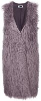 H Beauty&Youth faux-fur gilet