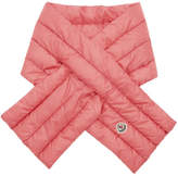 Moncler Pink Down Scarf