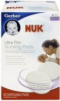 NUK Gerber Ultra Thin Nursing Pads, 60-Pack