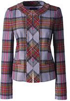 Classic Women's Plaid Femme Jacket-Vicuna Heather