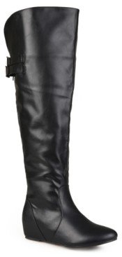 Journee Collection Angel Wide Calf Over The Knee Boot