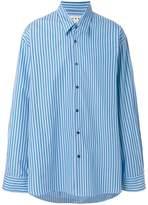 Marni loose fit striped shirt