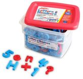 Educational Insights 218-Piece Color-Coded Alphamagnets & Mathmagnets