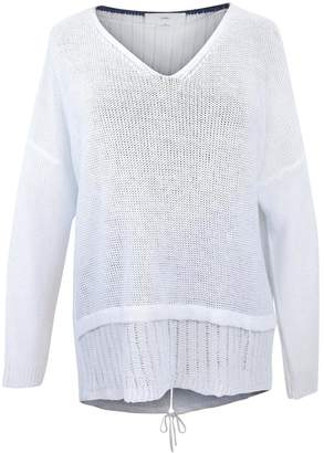 Charli White Linen Sweater