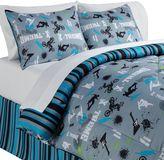 Veratex On the Edge Reversible 4-pc. Comforter Set - Queen