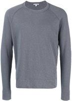 James Perse classic sweatshirt - men - Cotton - 1