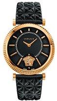 Versace Women's VQG040015 V-HELIX Analog Display Quartz Black Watch