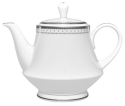 Noritake Rochester Platinum Tea Pot