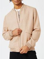 Topman Topman Jambra Dr-ne Biker-detail Cotton-blend Jacket