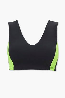 Forever 21 Plus Size Colorblock Sports Bra