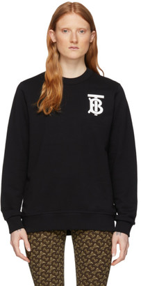 Burberry Black Dryde Logo Sweatshirt