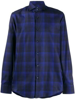 HUGO BOSS windowpane check shirt
