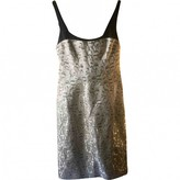 Narciso Rodriguez Silver Silk Dress for Women