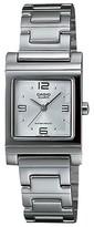 Casio Women's White Dial Watch - Silver (LTP1237D-7A)