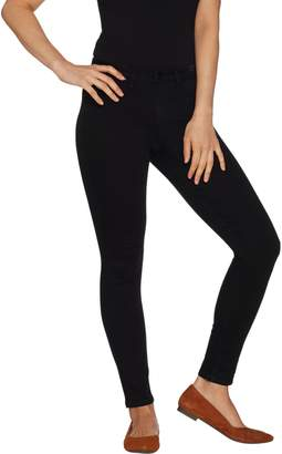 Laurie Felt Silky Denim Colored Skinny Ankle Pull-On Jeans