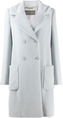 Alberta Ferretti Straight-Fit Coat