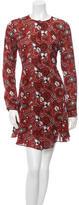 A.L.C. Silk Printed Dress w/ Tags