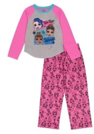 AME Lol Surprise! Little and Big Girls 2-Piece Pajama Set