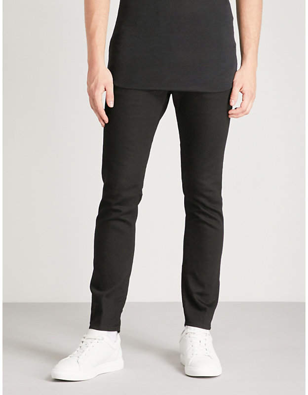 DSQUARED2 Skater slim-fit zip-detail skinny jeans