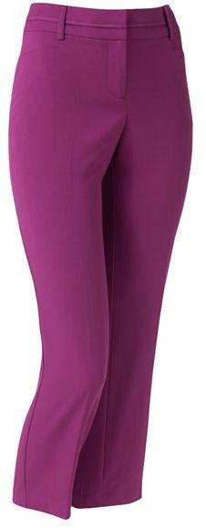 Apt. 9 modern fit slim ankle pants