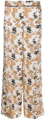 Victoria Victoria Beckham ditsy floral print Panama trousers