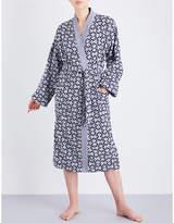 Yves Delorme Entrelacs cotton bathrobe